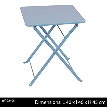 Table Pliante Carré Tempete, Mistral: Amazon.fr: Jardin