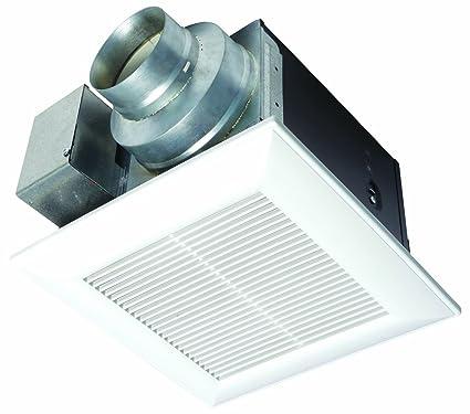 Amazoncom Panasonic FVVQ WhisperCeiling CFM Ceiling Mounted - Panasonic 50 cfm bathroom exhaust fan