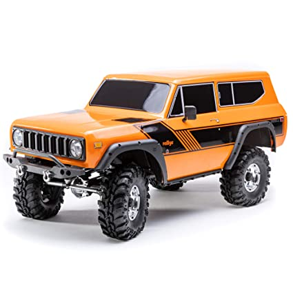 amazon com: redcat racing orange gen8 scout ii scale rock crawler 4wd off  road with portal axles licensed body & more: toys & games