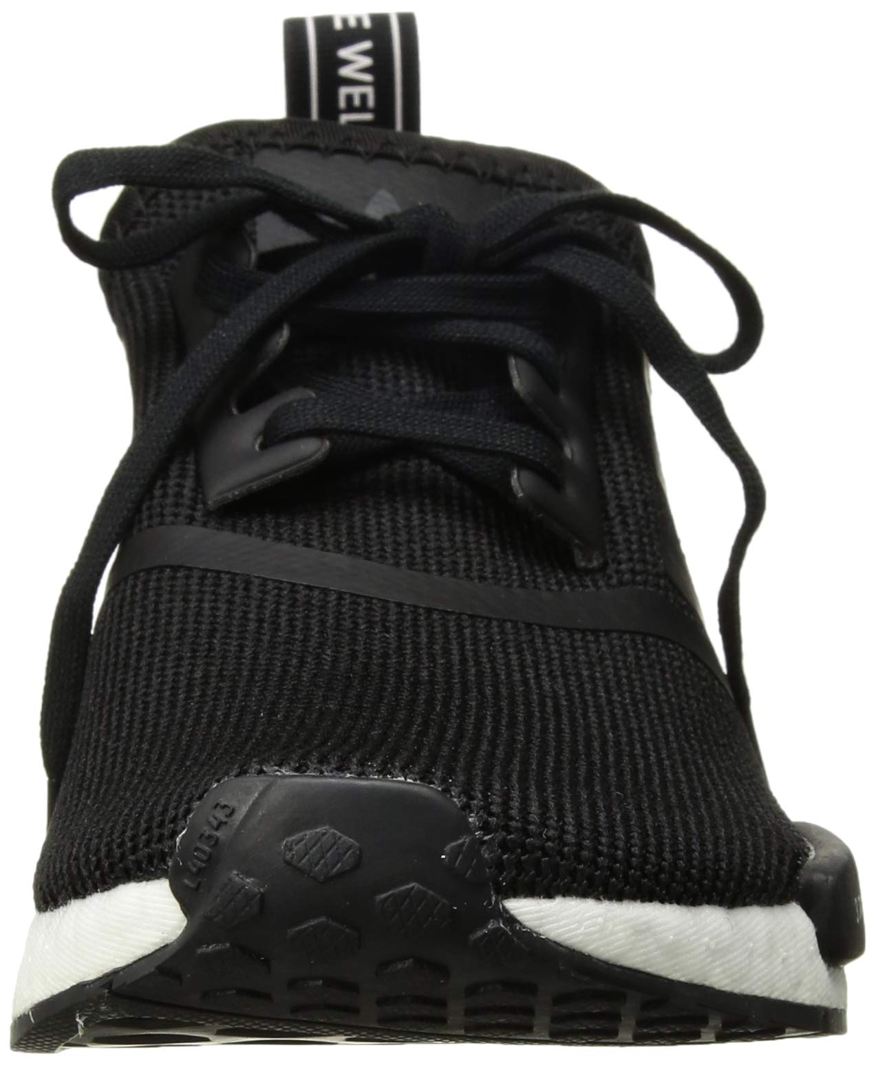 adidas Originals Unisex NMD_R1 Running Shoe, Black/Orchid Tint, 3.5 M US Big Kid by adidas Originals (Image #4)