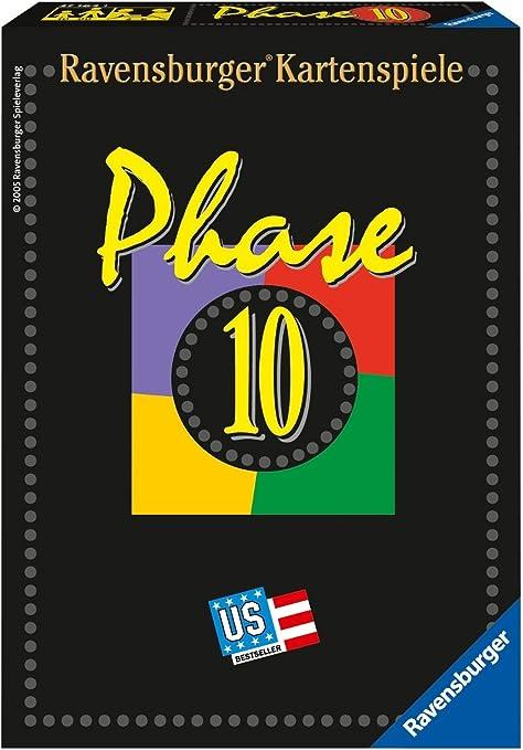 Fase 10 juego de cartas [importado de Alemania]: Amazon.es: Juguetes y juegos
