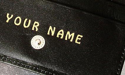 Monedero Personalizable para Mujer y Hombre de Piel Negra ...