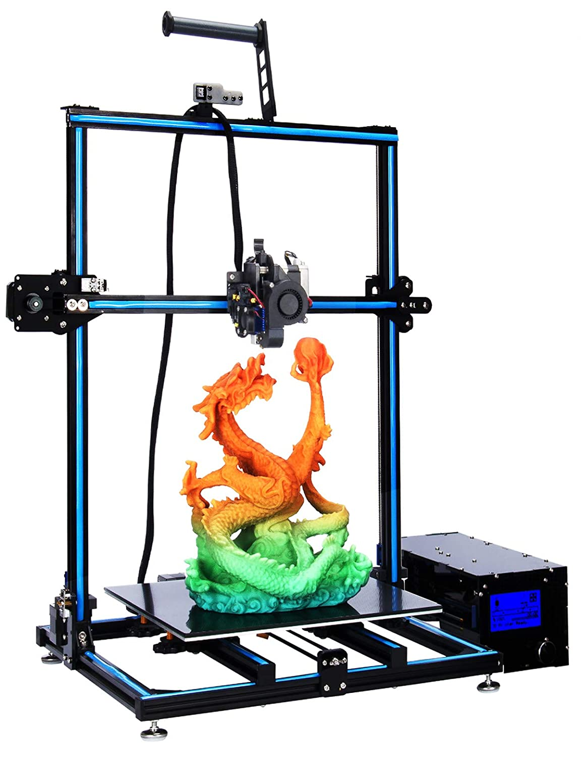 ADIMLab Updated Gantry Pro 3D Printer with 310X310X410 Big Size 24V Power, Titan Direct Extruder, Lattice Glass, Resume Print and Run Out Detection, ...