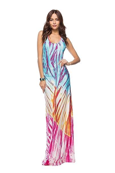 a340e18ee COCO clothing Vestido - Manchado - para Mujer  Amazon.es  Ropa y ...