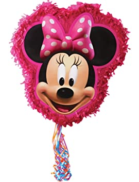 Minnie Mouse Pull Ribbon String Pinata by Hallmark [Toy ...