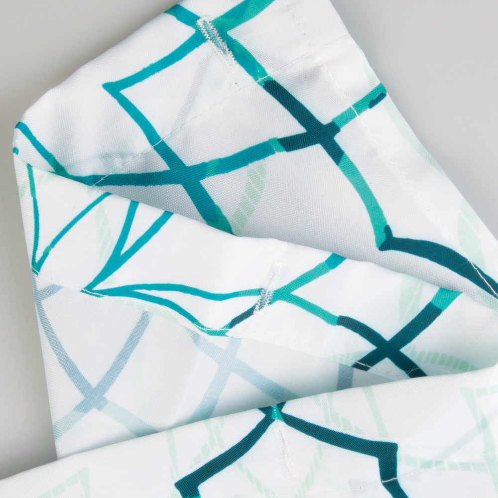 Tende per Doccia in Poliestere Lavabile 183cm X 183 Cm Lavanda//Blu Interdesign Petite Floral SC Tenda Doccia in Tessuto con Design Floreale