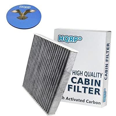 HQRP Carbon Cabin Air Filter works with FRAM CF10285 Replacement Toyota 4Runner Avalon Camry Corolla Matrix Prius RAV4 Tundra Venza; Lexus CT200h ES350 GS300 GS430 GS460 GX460 HS250h + Coaster: Automotive