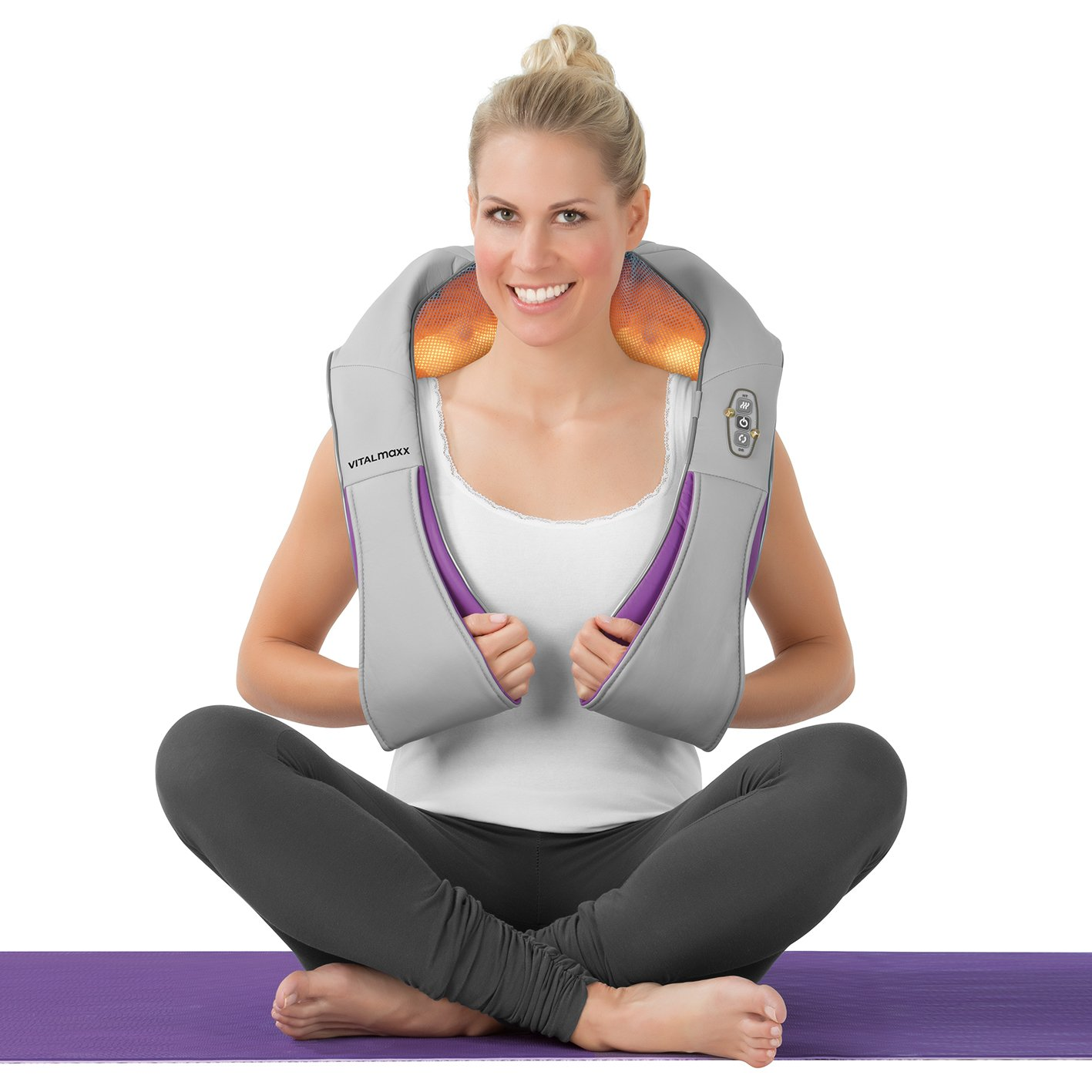 Vitalmaxx Shiatsu Massagegerät Shiatsu Wärme Therapie 3d Rotation