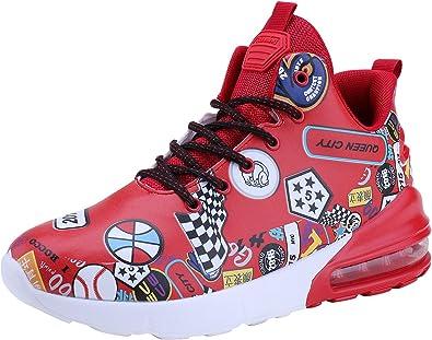 Zapatillas Deportivas WYHAN para Hombre, con amortiguación de Aire, para Correr, Tenis y Baloncesto, Ligeras, (94 Red), 44 EU: Amazon.es: Zapatos y complementos