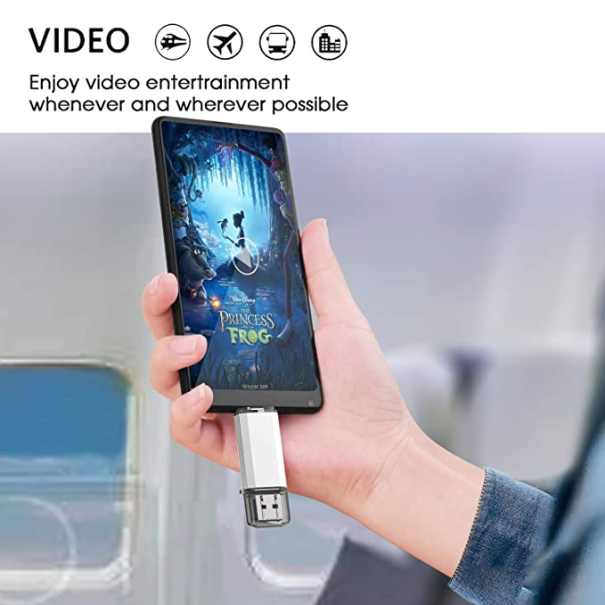 KEXIN 32GB Memoria USB Tipo C y USB 3.0 OTG Flash Drive 32 GB 2 en 1 USB Pendrive Memory Stick para Portátil, Teléfono y Otras Dispositivos USB o Tipo C: ...