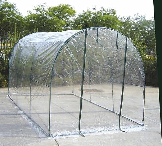 28 opinioni per Telo di ricambio in PVC trasparente per serra orto a tunnel 647/14 VerdeLook