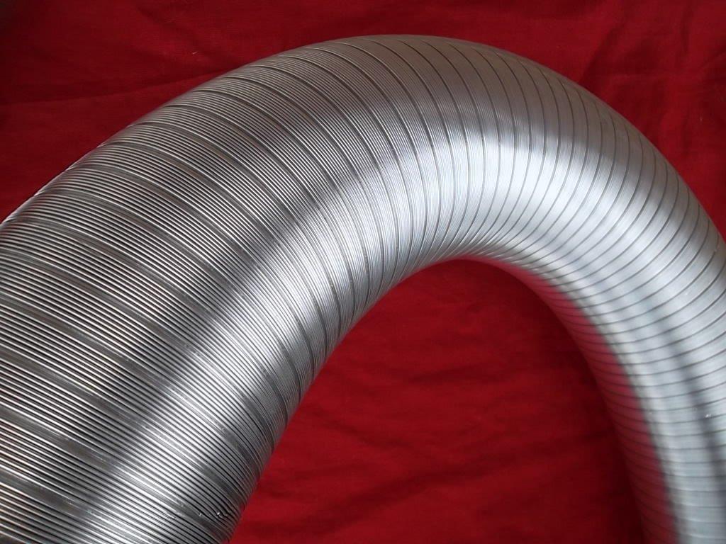 Alu-Flex-Rohr 3m Flexrohr /Ø 130 mm Alurohr Schlauch Aluflex