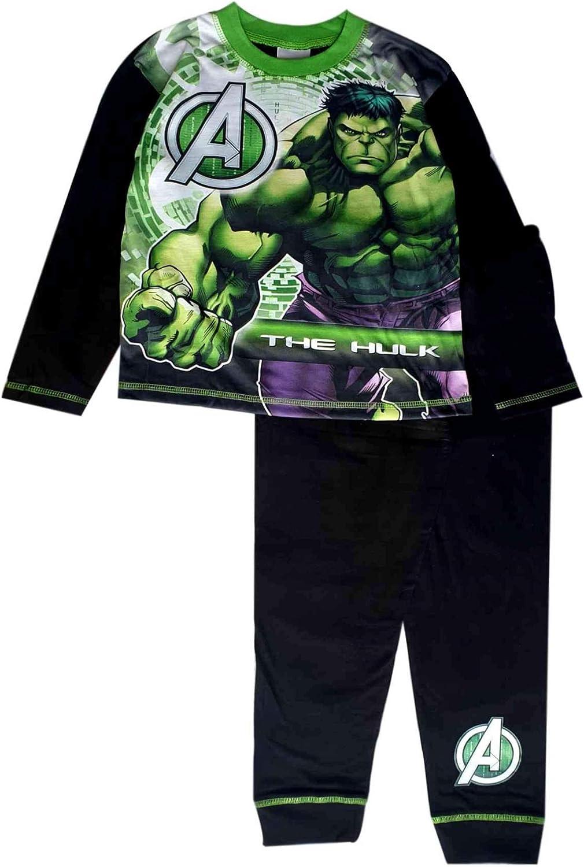 Avengers Kinderschlafanzug Schlafanzug Pyjama Kinderpyjama Hausanzug Thor Hulk