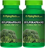 Sulforaphane (From Broccoli) 2 Bottles x 90 Capsules