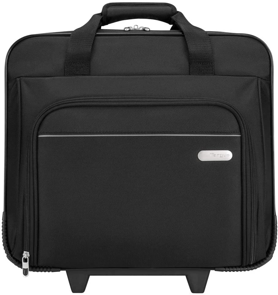 Targus Metro Rolling Protective Laptop Case Designed for Business Commuter fit up to 16 Inch Notebook Screen Black TBR003US