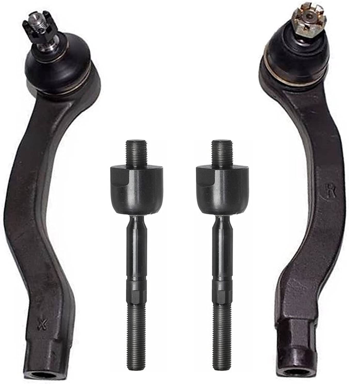 For Acura CL TL Honda Accord Coupe Front Inner /& Outer Steering Tie Rod Ends Kit