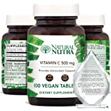 Natural Nutra Vitamin C Supplement for Kids and Adults, Immune Booster, Protect Skin from Signs of Aging, Healthy Heart…