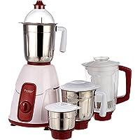 Prestige Elegant 750 Watt Mixer Grinder with 3 Stainless Steel Jar & 1 Juice Extractor Jar
