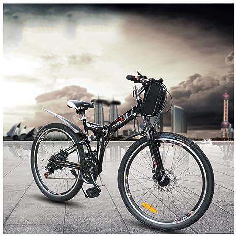 GTYW - Bicicleta eléctrica plegable para bicicleta de montaña, bicicleta de adultos, bicicleta eléctrica, plegable, bicicleta de ...