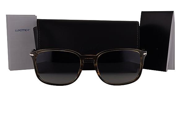 ff65786cfa6f0 Persol PO3158S Sunglasses Brown Green Havana w Gray Gradient Lens 104971 PO  3158-S  Amazon.co.uk  Clothing