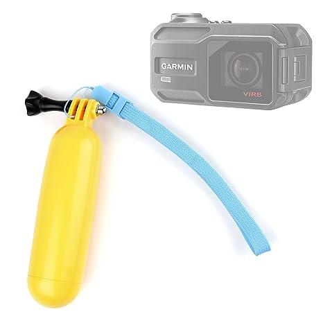 DURAGADGET Flotador Color Amarillo para Garmin Virb X | XE: Amazon.es: Electrónica