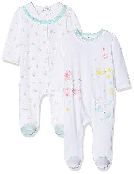 Mayoral 1750, Conjuntos de Pijama para Bebés, Azul (Agua 74), Recién