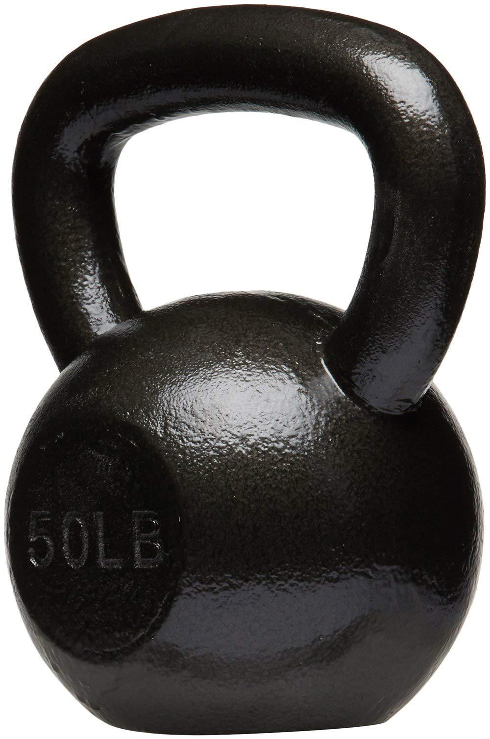 AmazonBasics Cast Iron Kettlebell, 50 lb by AmazonBasics (Image #2)