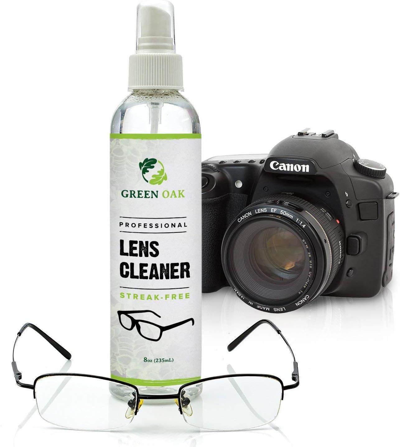 Green Oak Spray limpiador de lentes para lentes, cámaras y otras ...