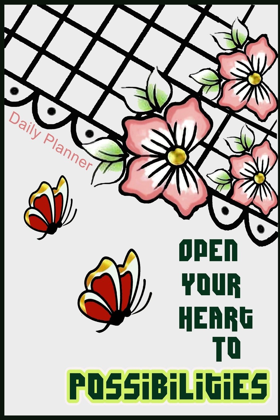 Amazon.com: Daily planner Open your heart to possibilities ...