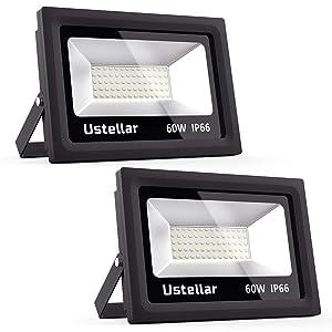 Ustellar Waterproof Equivalent Outdoor LED Flood Light