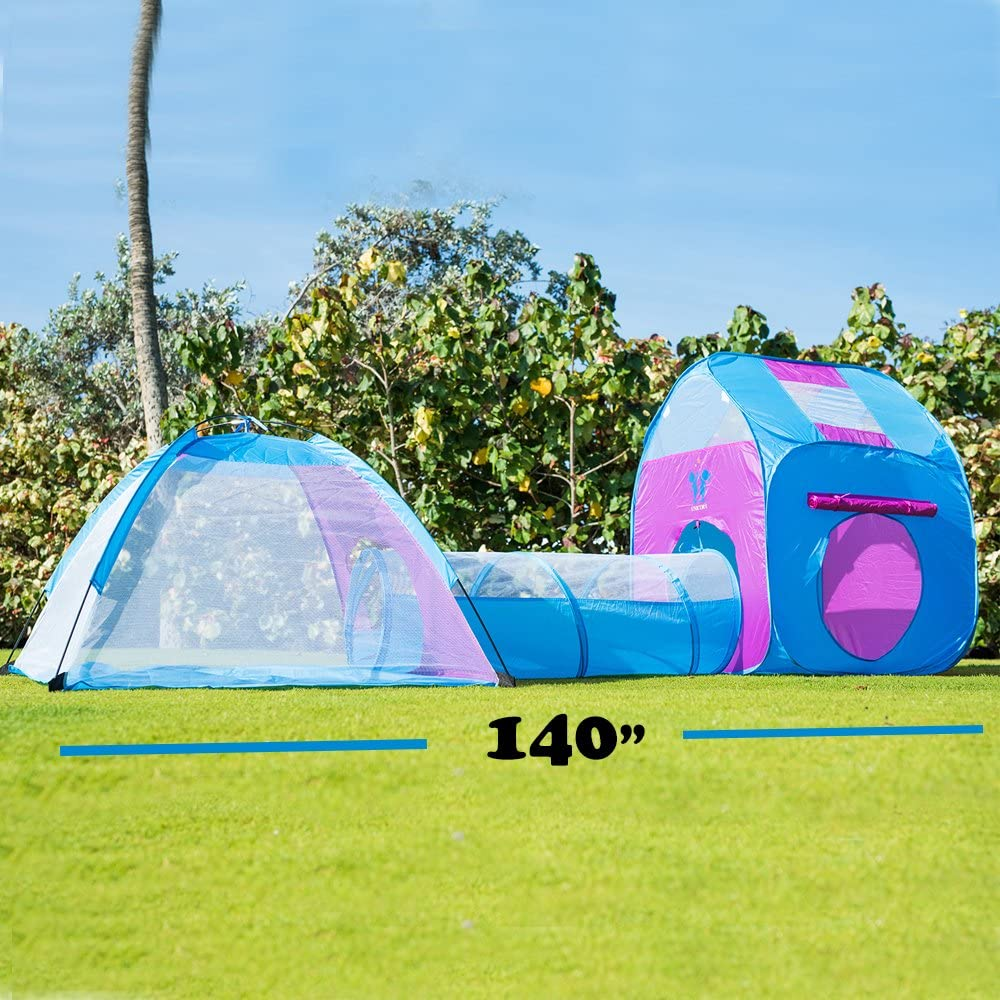 Kids Pop Up Play Tent With Tunnel ...  sc 1 st  Amazon.com & Amazon.com: Play Tents u0026 Tunnels: Toys u0026 Games: Play Tents Play ...