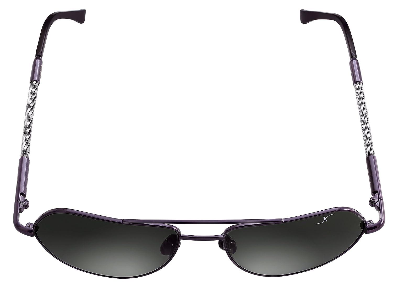Driving Fishing Xezo Polarized Genuine Glass Dark Lenses Titanium Aviator Retro Style Designer Sunglasses