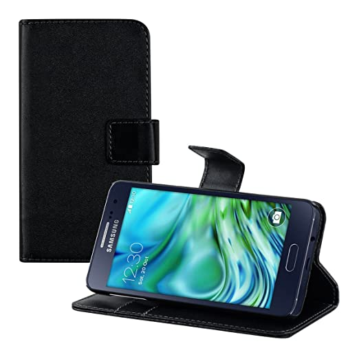 25 opinioni per kwmobile Custodia portafoglio per Samsung Galaxy A3 (2015)- Cover a libro in