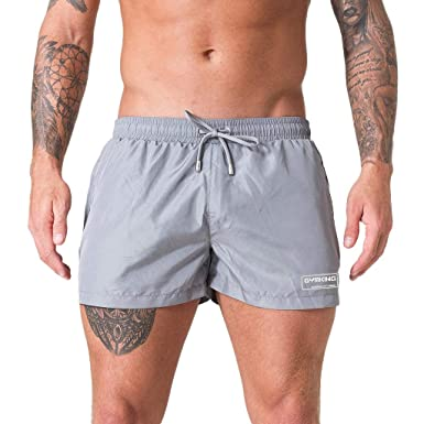 Kfnire Ba/ñador para Hombre Pantalones Cortos de Los Transparente Hombres de Secado R/ápido Playa Surf Corriendo Pantalones Cortos de Nataci/ón Boxeadores