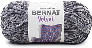 Bernat Velvet Yarn, 10.5 oz, Vapor Gray
