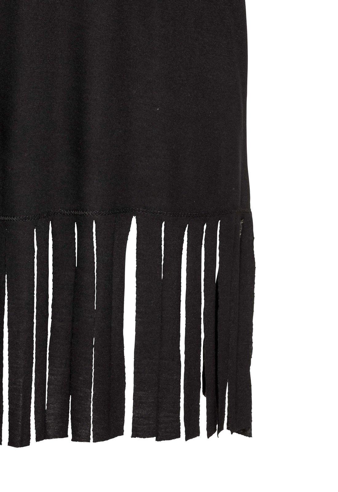 Rainlover Womens Letters Print Baggy Swimwear Bikini Cover-ups Beach Dress (BB-Black) by Rainlover (Image #6)