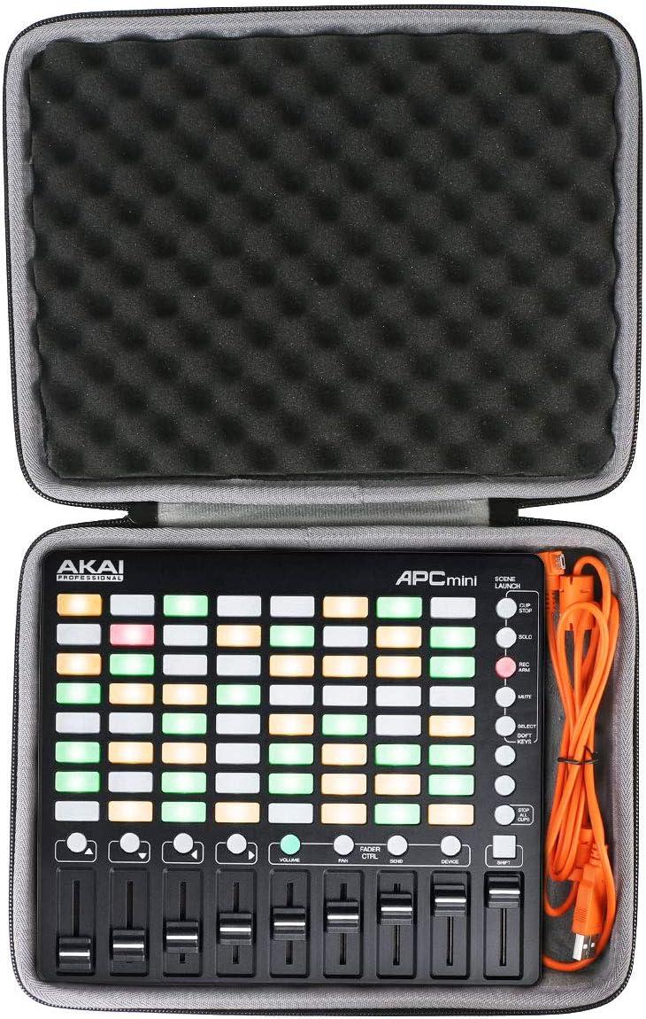 co2CREA Duro Viajar Caso Cubrir para Akai Pro APC MINI - controlador USB MIDI (travel case)