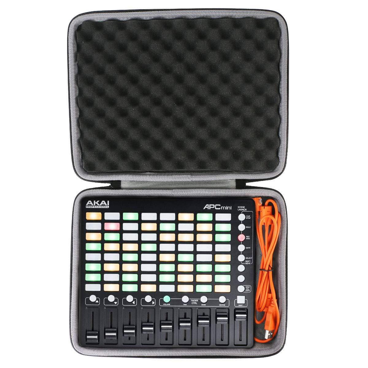 co2crea Hard Travel Case for Akai Professional APC Mini | Compact Ableton Live controller