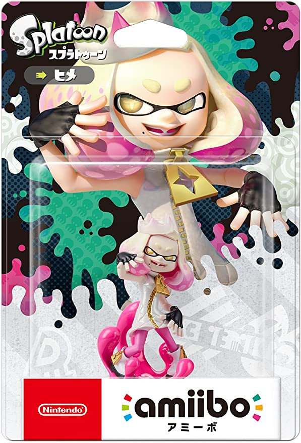 Amiibo Splatoon 2 Nintendo Switch Pearl Perla (Japan Import): Amazon.es: Juguetes y juegos