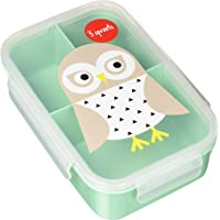 3 Sprouts Lunch Bento Box - Owl, Mint