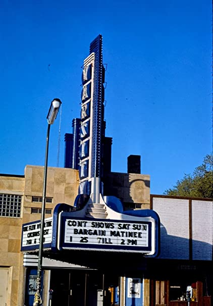 Amazon com: Roadside America Photo Collection | 1976 Varsity Theater