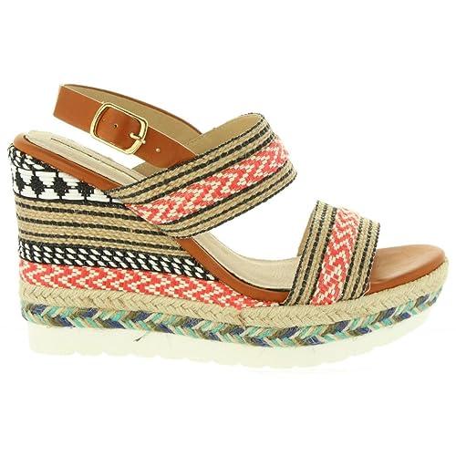 Rojo 67173 De es C19485 Sandalias Zapatos Amazon Mujer Mare Maria ZYnU1aR