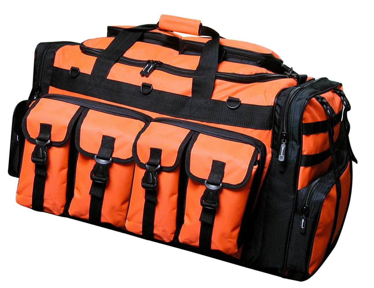 Nexpak 30'' Tactical Duffle Military Molle Gear Shoulder Strap Range Bag TF130 NO Neon Orange by Nexpak