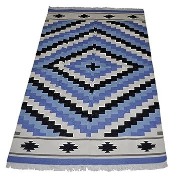 indian dhurrie rugs runner 4 x 6 ft