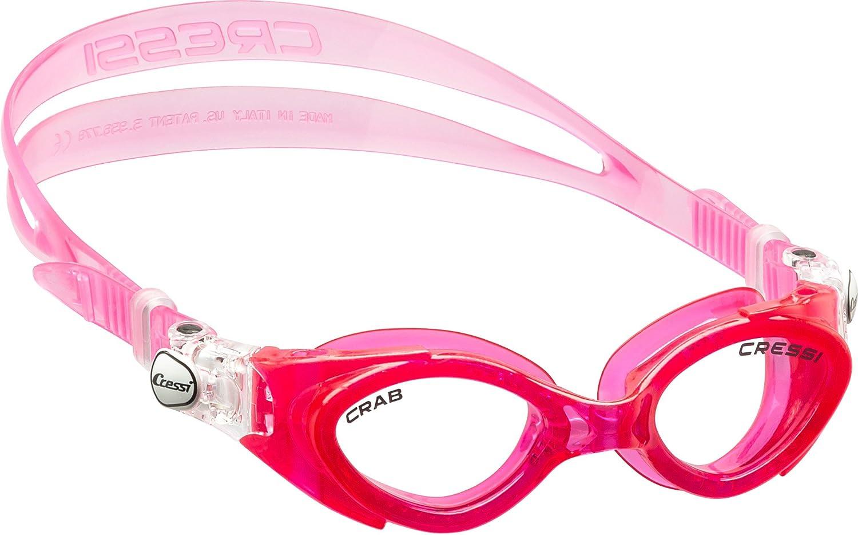 Cressi Swim King Crab Gafas de Natación para Niños