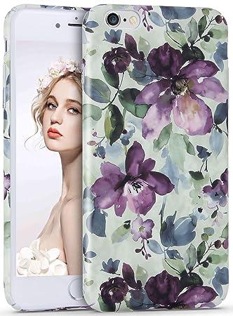 20e7cda487 Imikoko iPhone6 6s Plus プラス ケース iPhoneケース スマホケース かわいい おしゃれ 花柄 人気 ブランド ハード
