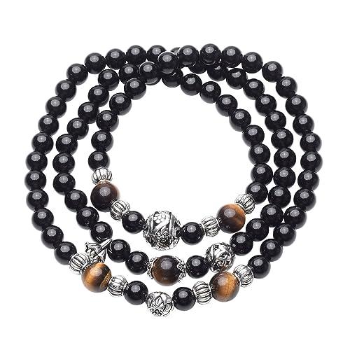 CrystalTears Natural Obsidiana Reiki Curación energética de ...