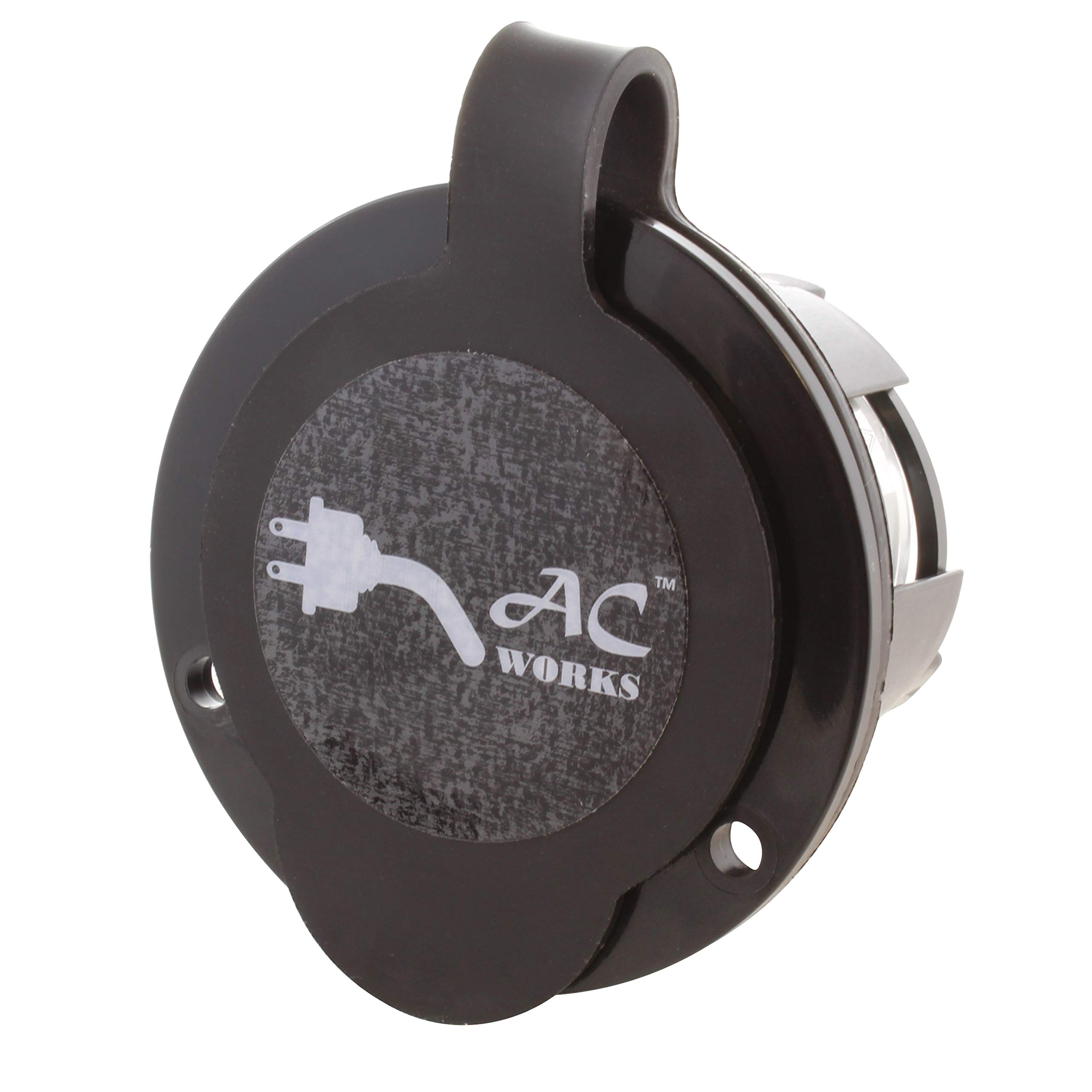 AC WORKS [ASINL720P-FC 20A 277V L7-20P Power Input Inlet UL and C-UL Listed with Weather Cover by AC WORKS (Image #3)