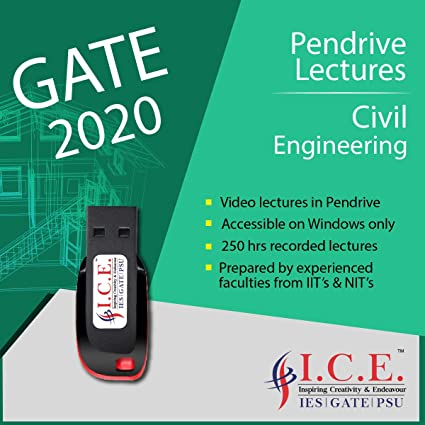 GATE Civil Engineering (Video Lectures for GATE Exams) - USB
