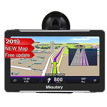 Mksutary GPS de Coche, Navigation Pantalla 7
